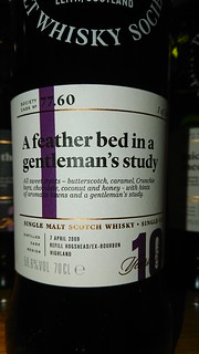 SMWS 77.60 - A feather bed in a gentleman's study