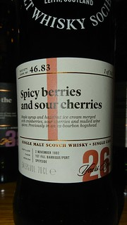 SMWS 46.83 - Spicy berries and sour cherries