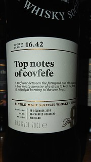 SMWS 16.42 - Top notes of covfefe