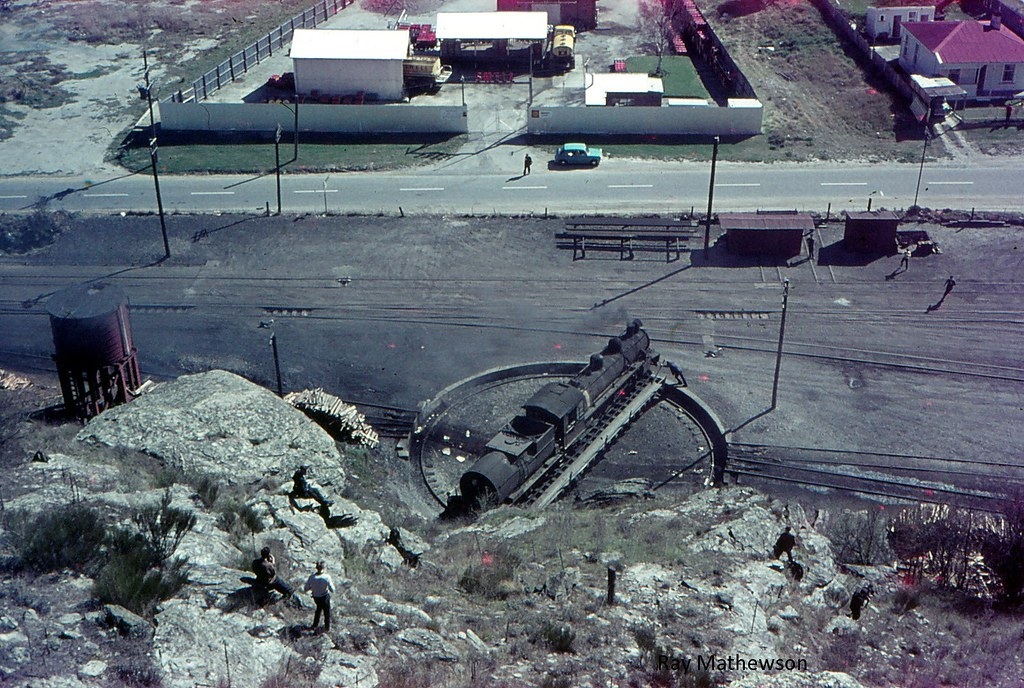Cromwell loco turntable from above 1966 or 1967