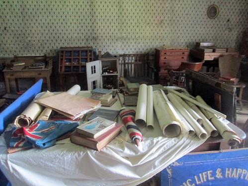 nursery clutter, old toys, Calke Abbey