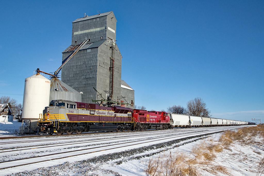 CP 7012 West at Drake, North Dakota