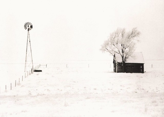 440 - North of Loomis No. 2 - Lith Print