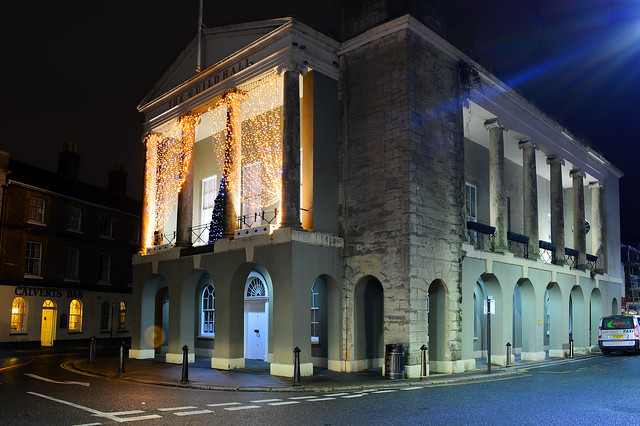 The Guildhall in Newport, Isle of Wight