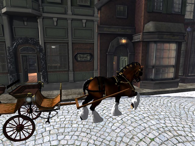 The Dickens Project 2019 -Carriage Ride
