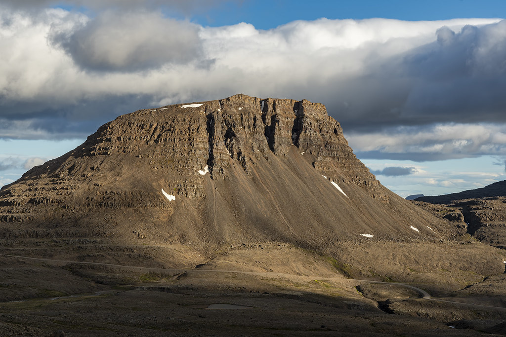Middle of nowhere in Iceland's Westfjords