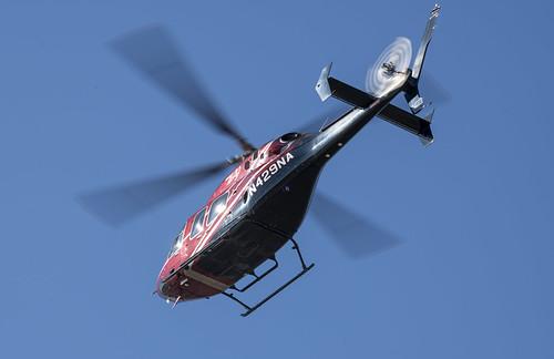 Bell 429 Overhead