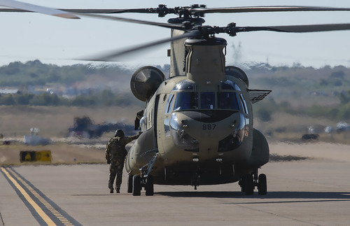 Parking the Chinook
