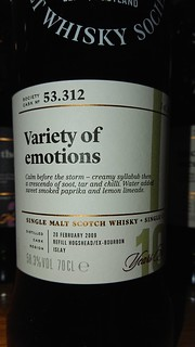 SMWS 53.312 - Variety of emotions
