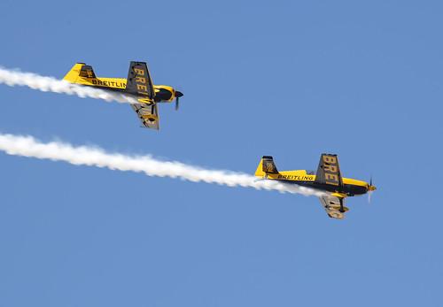 Breitling Stunt Pane Formation