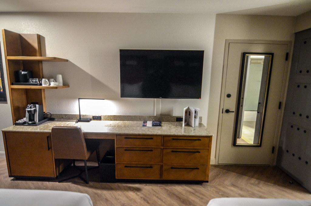 TV wall Coronado room