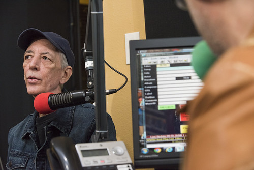 Jerry Brock at WWOZ's 39th birthday - Dec. 4, 2019. Photo by Ryan Hodgson-Rigsbee rhrphoto.com.