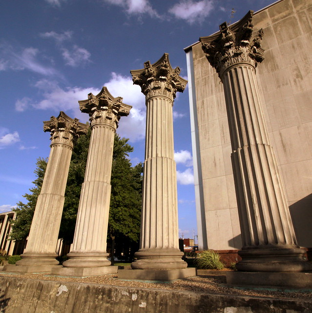 Old Courthouse Columns - New Albany, IN