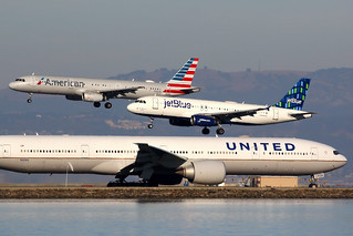 Parallel landings | San Francisco International