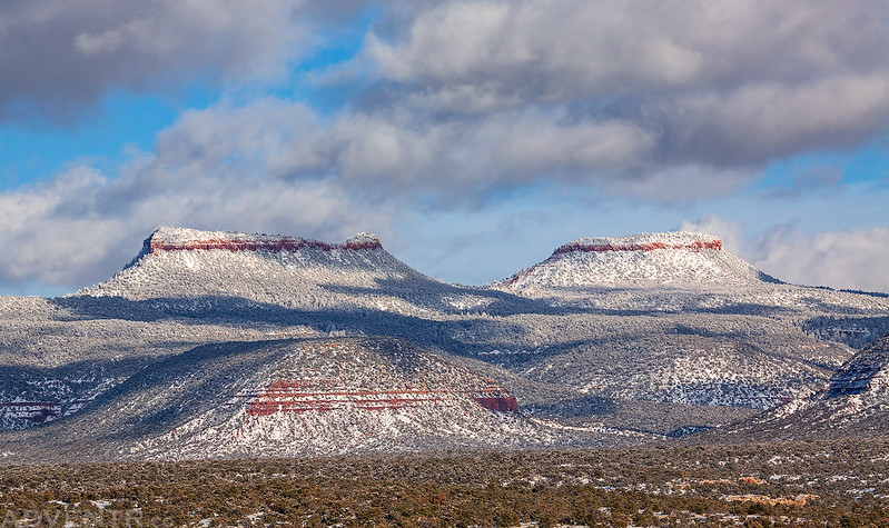 Snow On The Bears Ears