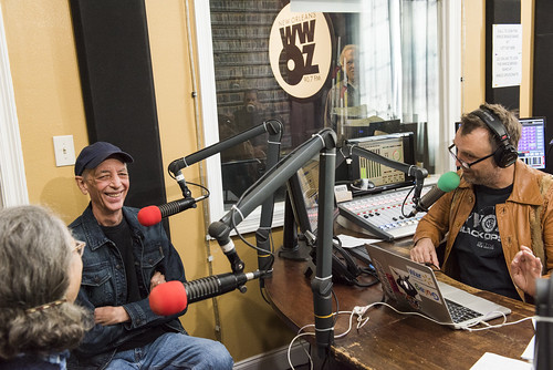 Jerry Brock and George Ingmire at WWOZ's 39th birthday - Dec. 4, 2019. Photo by Ryan Hodgson-Rigsbee rhrphoto.com.