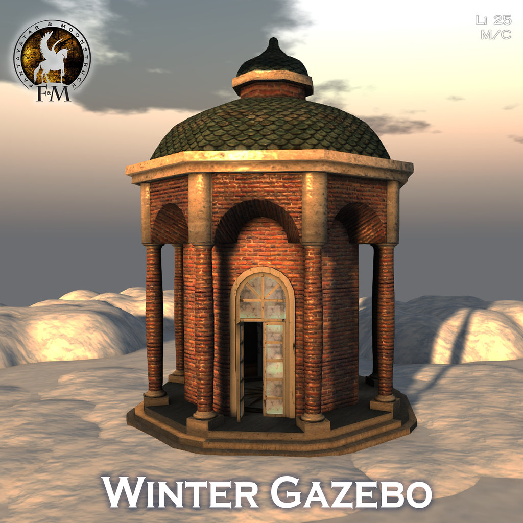 F&M Winter Gazebo
