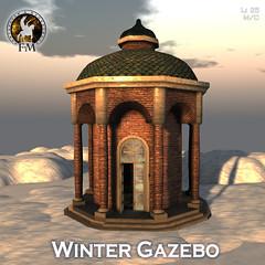F&M Winter Gazebo