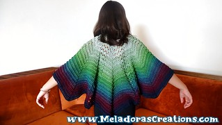 Butterfly Riptide Shawl 2  tagged