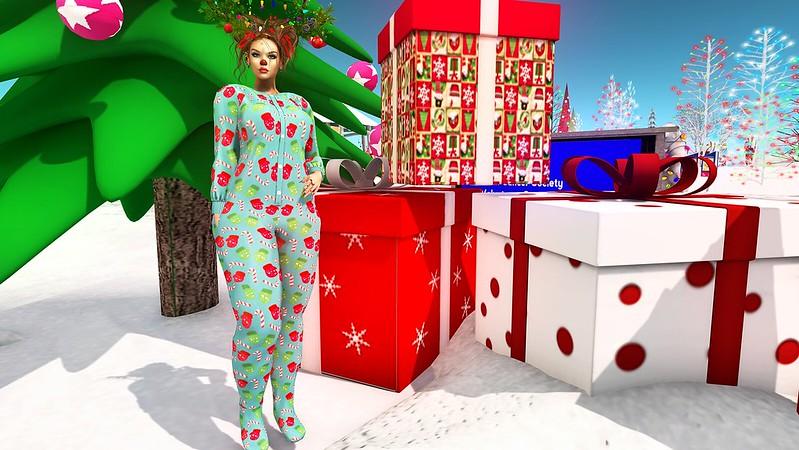 2019 SL Christmas Expo Exclusive - Ari-Pari Christmas Footie Pajamas