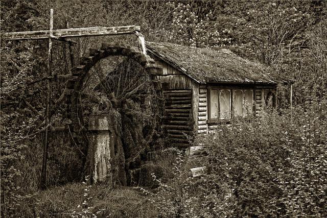 The Dalby Waterwheel