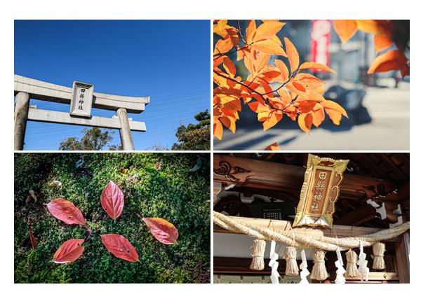 秋の田県神社 愛知県小牧市