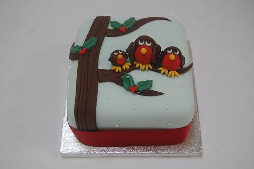 Robin Family Cake Beautiful Birthday Cakes