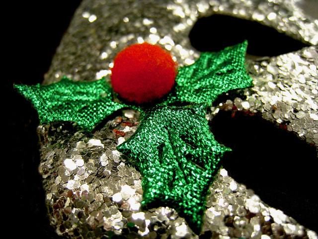 sparkly spangly holly