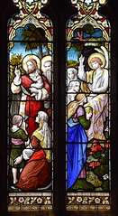 Suffer little children to come uto me/He is not here he is risen (Ward & Hughes, 1883)