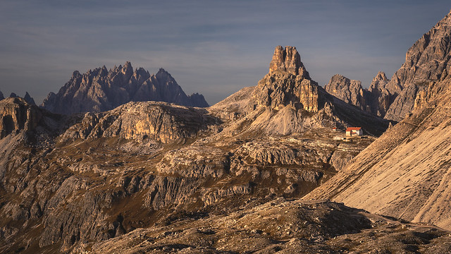 In the heart of the Dolomites