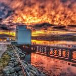 16. November 2019 - 8:07 - Beautiful sunrise in Ardveenish.  #heavyfilter