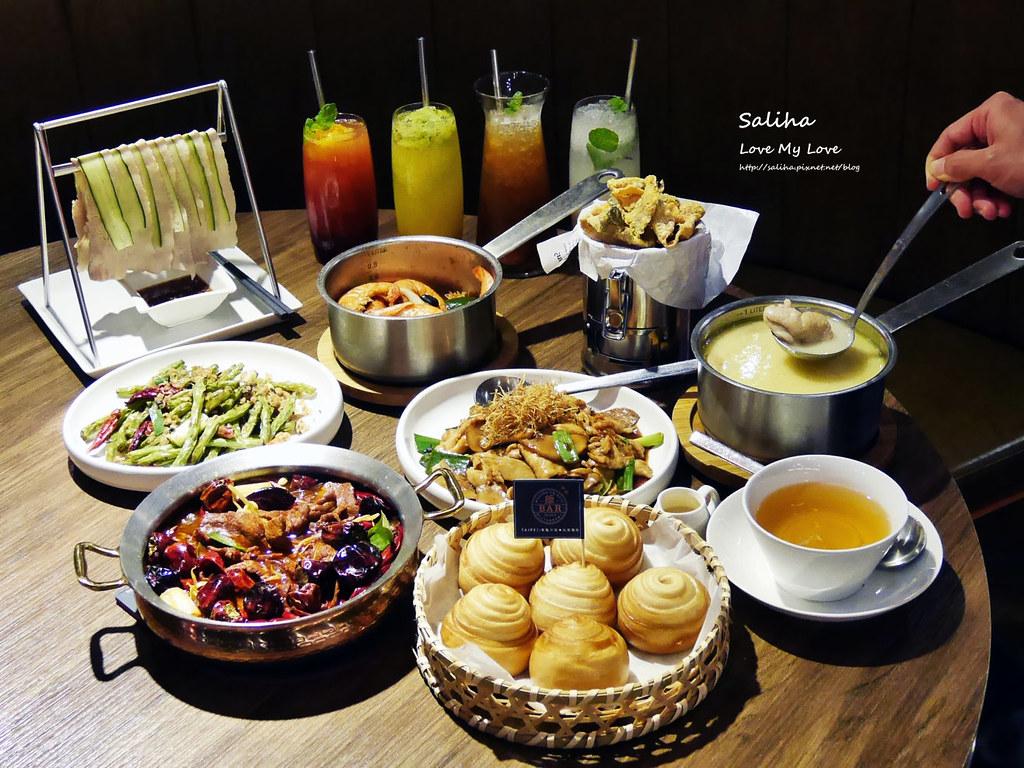 台北東區美食飯BAR MINI好吃餐點推薦氣氛好中式料理餐廳創意中菜食記