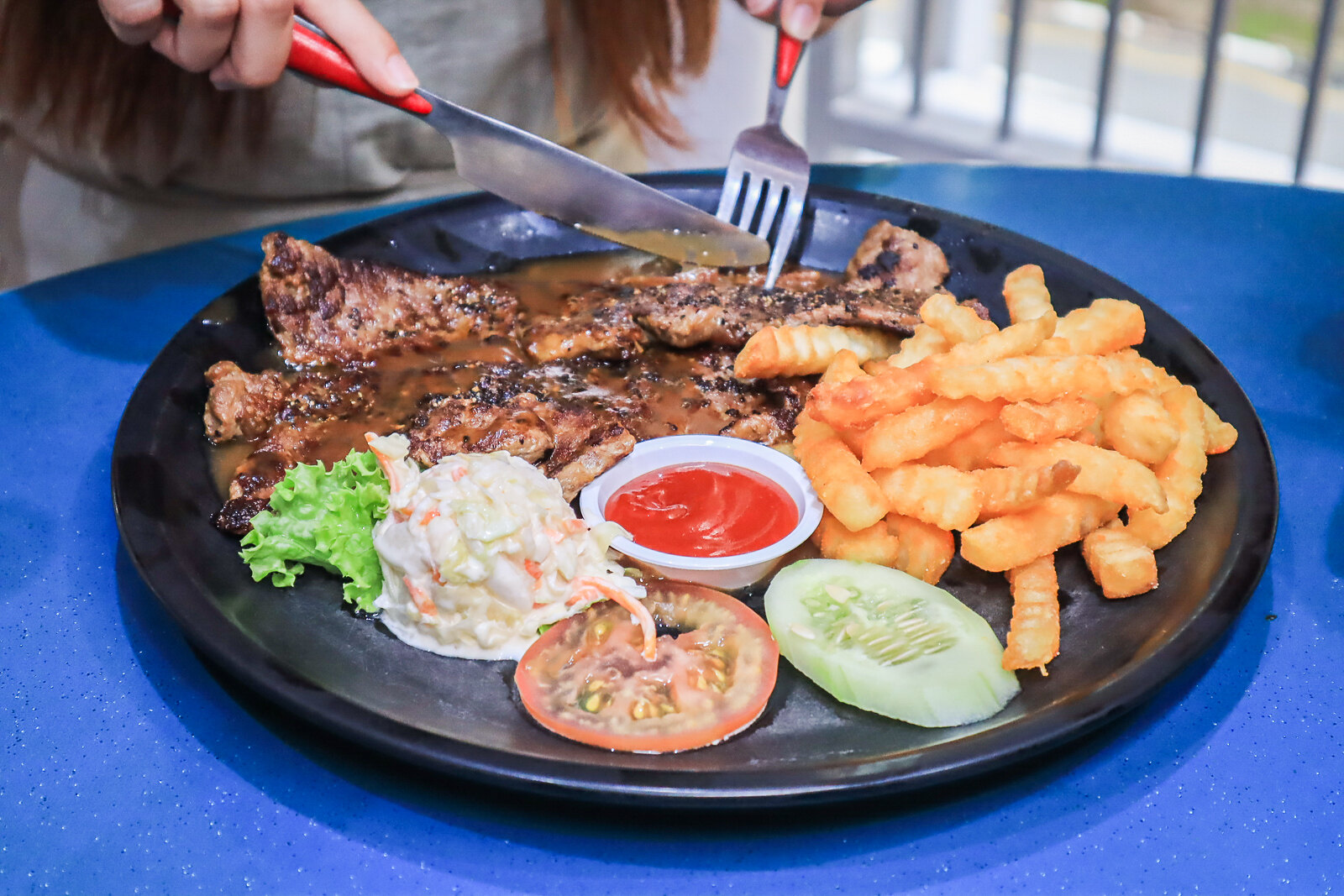 Taman Jurong Market and Food Centre - Tom's Kitchen steak