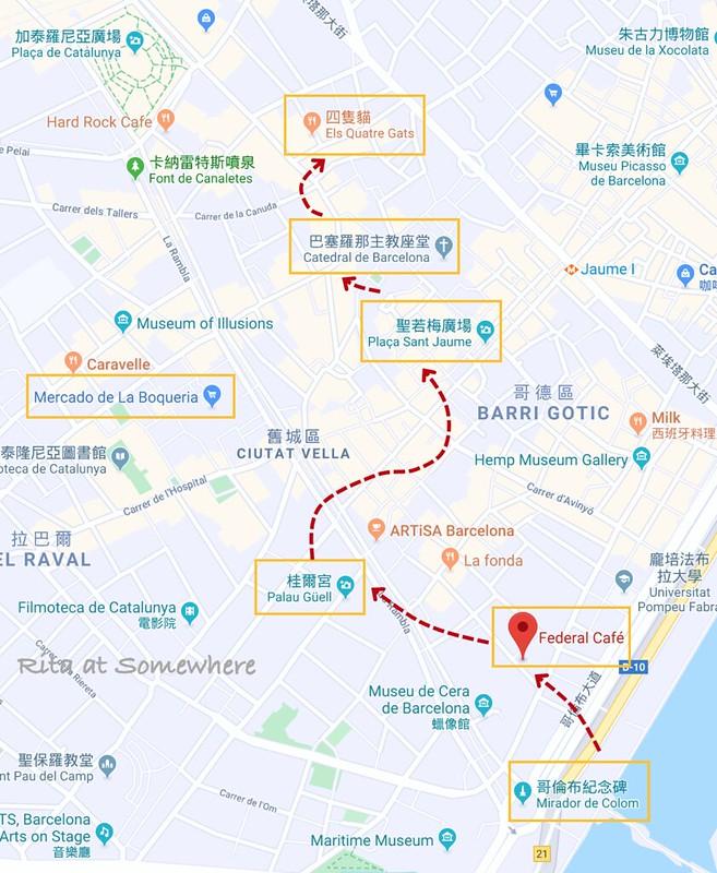 老城散步MAP