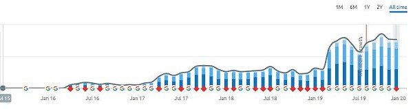 Does SEO Really Work - graph shows results