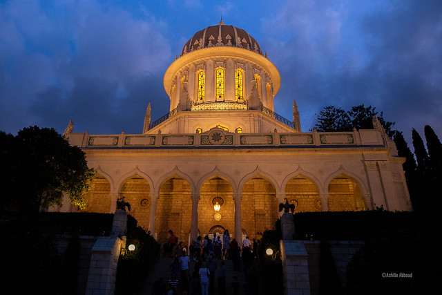 Bahá'í  Tempel - Haifa