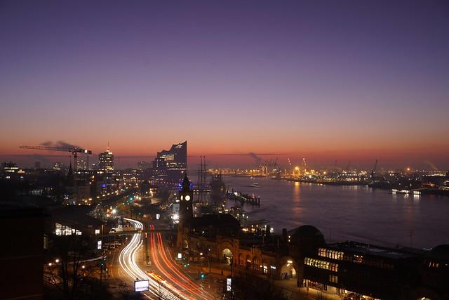 Hamburg erwacht