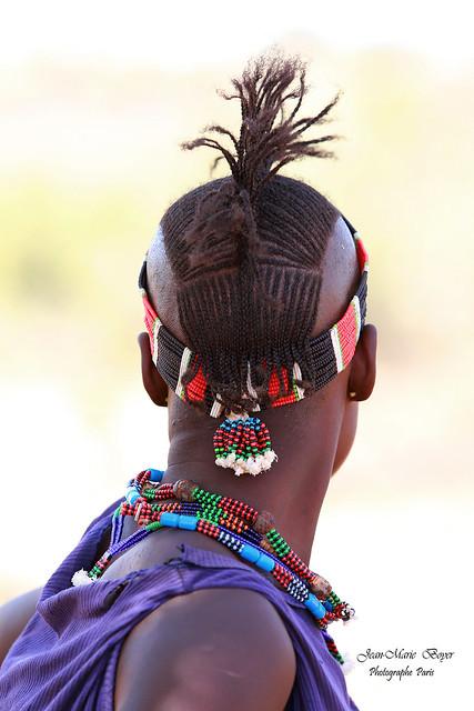 Tribu Hamer. - Ethiopie.