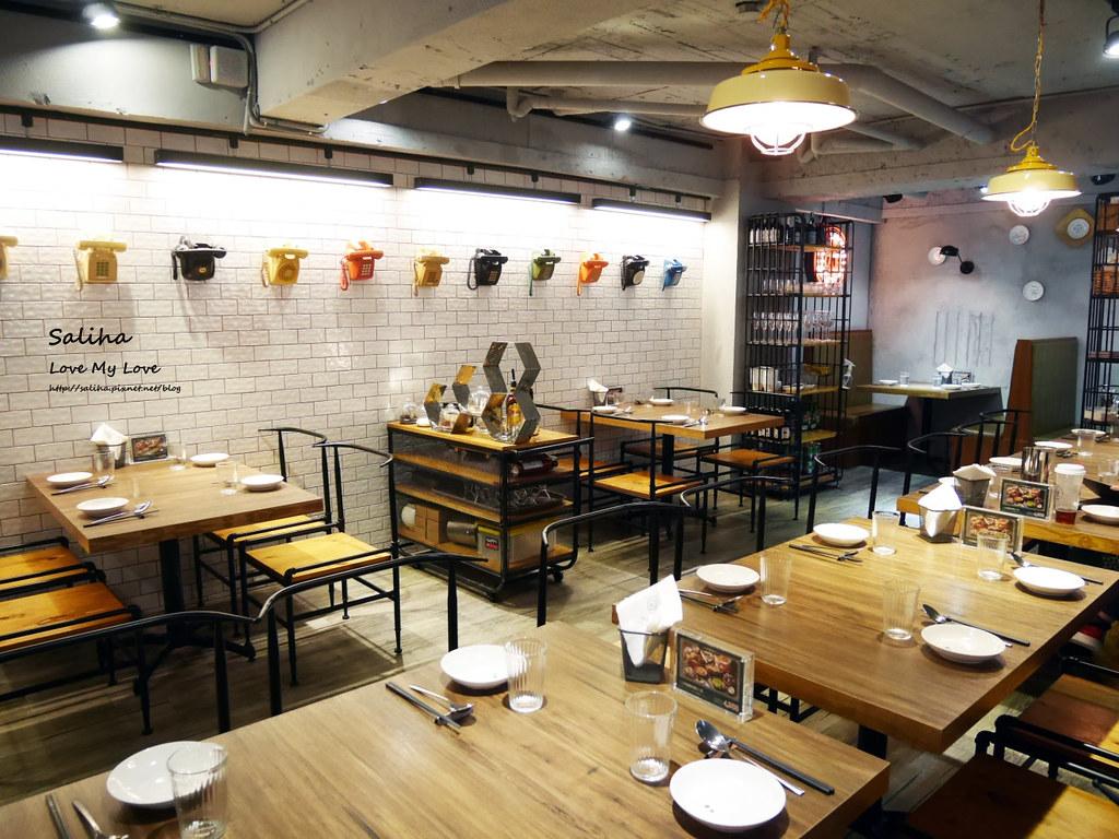 台北東區忠孝復興站附近餐廳推薦飯BAR MINI時尚中菜包廂聚餐美食 (4)