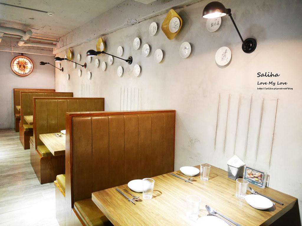 台北東區忠孝復興站附近餐廳推薦飯BAR MINI時尚中菜包廂聚餐美食 (1)