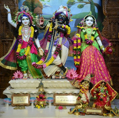 ISKCON GEV Wada Deity Darshan 05 Dec 2019