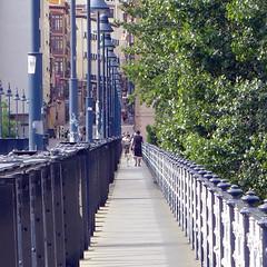 Logroño, puente sobre el Ebro