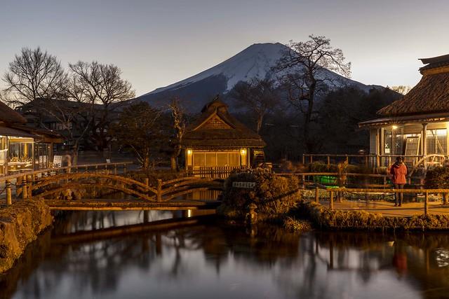 Oshino Hakkai Reflections & Mount Fuji