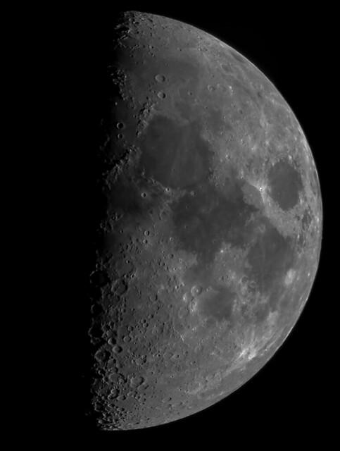 54% Waxing Gibbous Moon 04/12/19