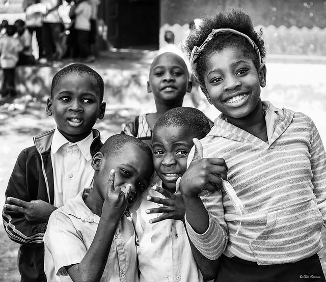 Kids in Maputo