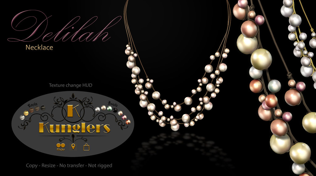 KUNGLERS – Delilah necklace vendor