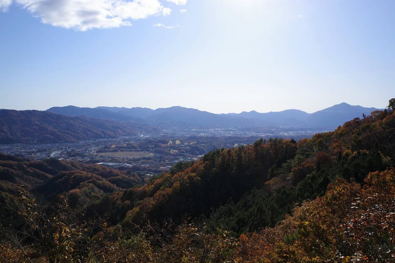 破風山・猿岩から眺める武甲山