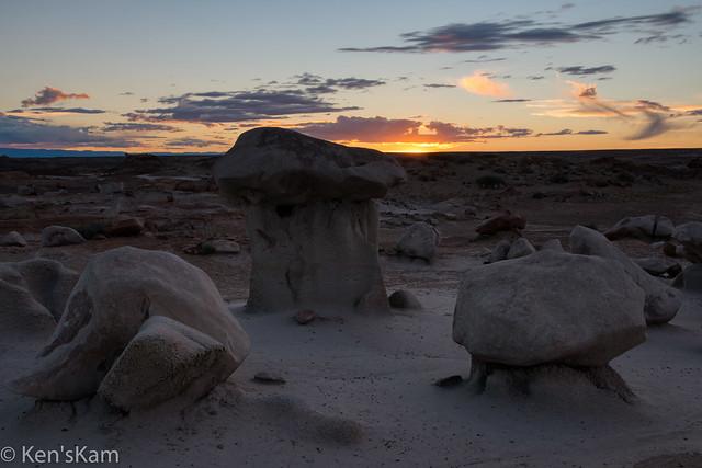 North Bisti Plateau Sunset