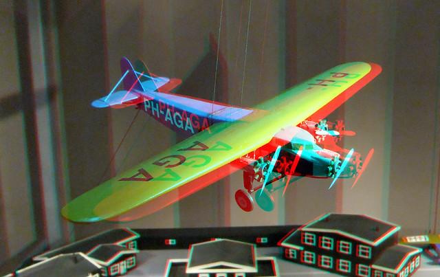 Aircraft PH-AGA Museum Rotterdam 3D
