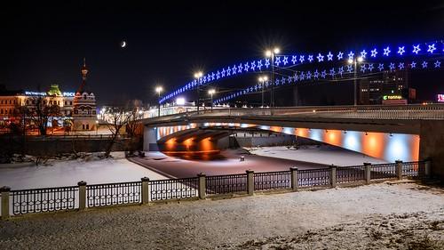 "Omsk Bridge ""Jubilee"" \ Омск. Мост ""Юбилейный"""